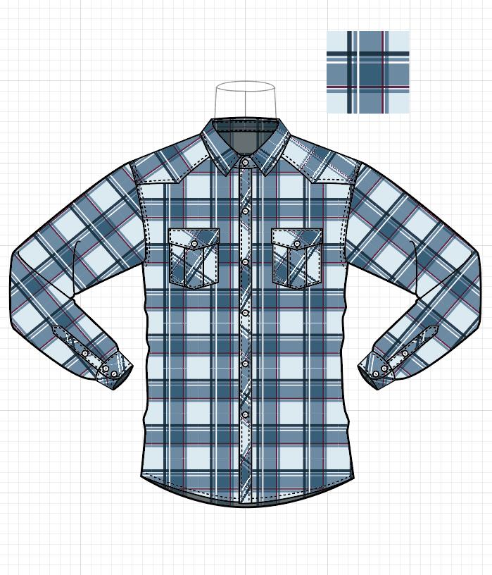 服装AI绘制作品