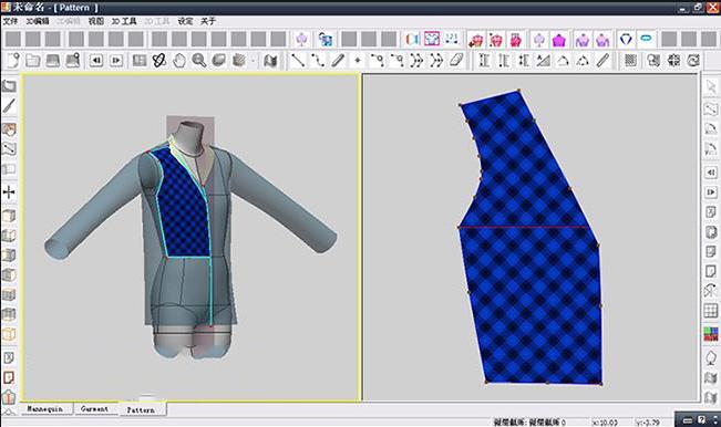 服装CAD作品